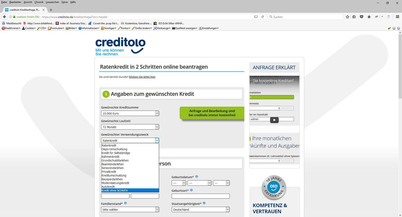 sofort auszahlung kredit ohne schufa